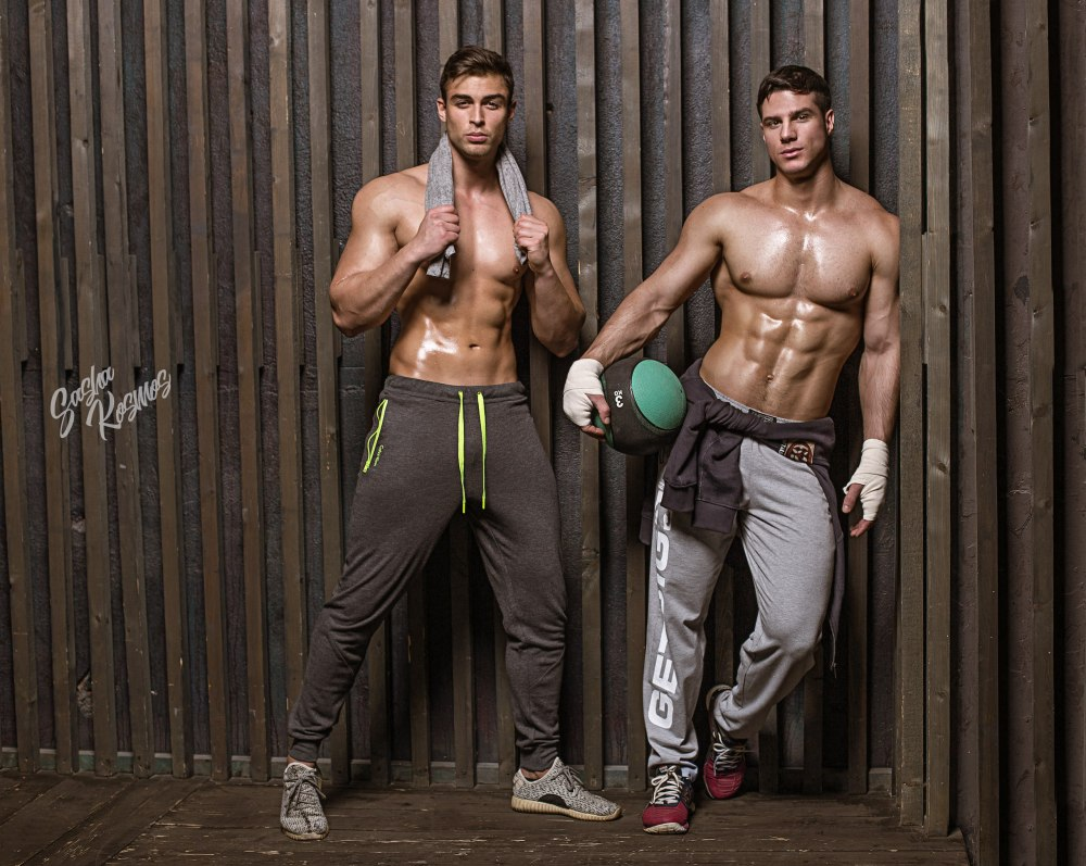 David Lurs and Dmitry Averyanov by Sasha Kosmos