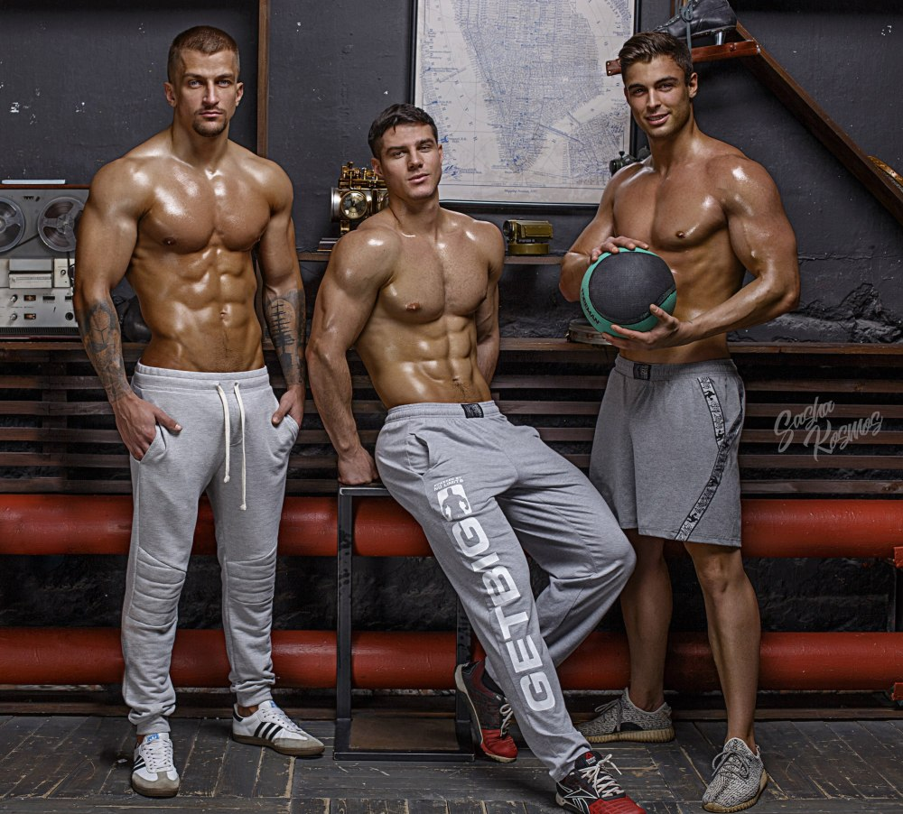 Dmitry Averyanov and David Lurs by Sasha Kosmos