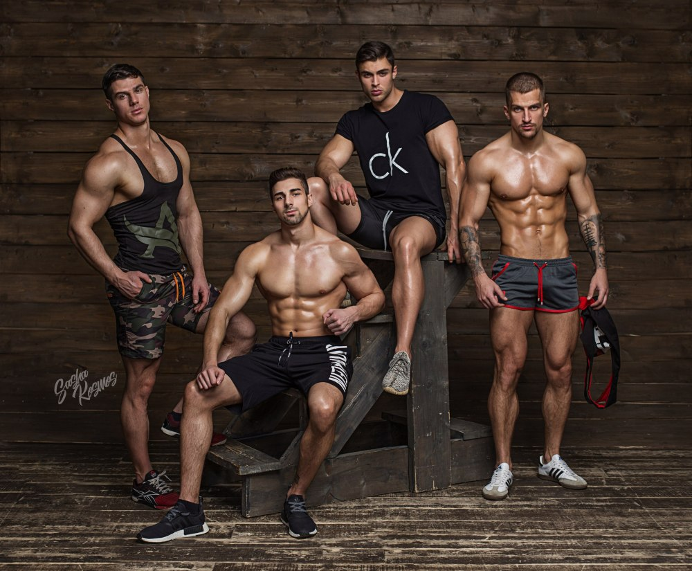 Dmitry Averyanov Mark Tsarevskiy and David Lurs by Sasha Kosmos