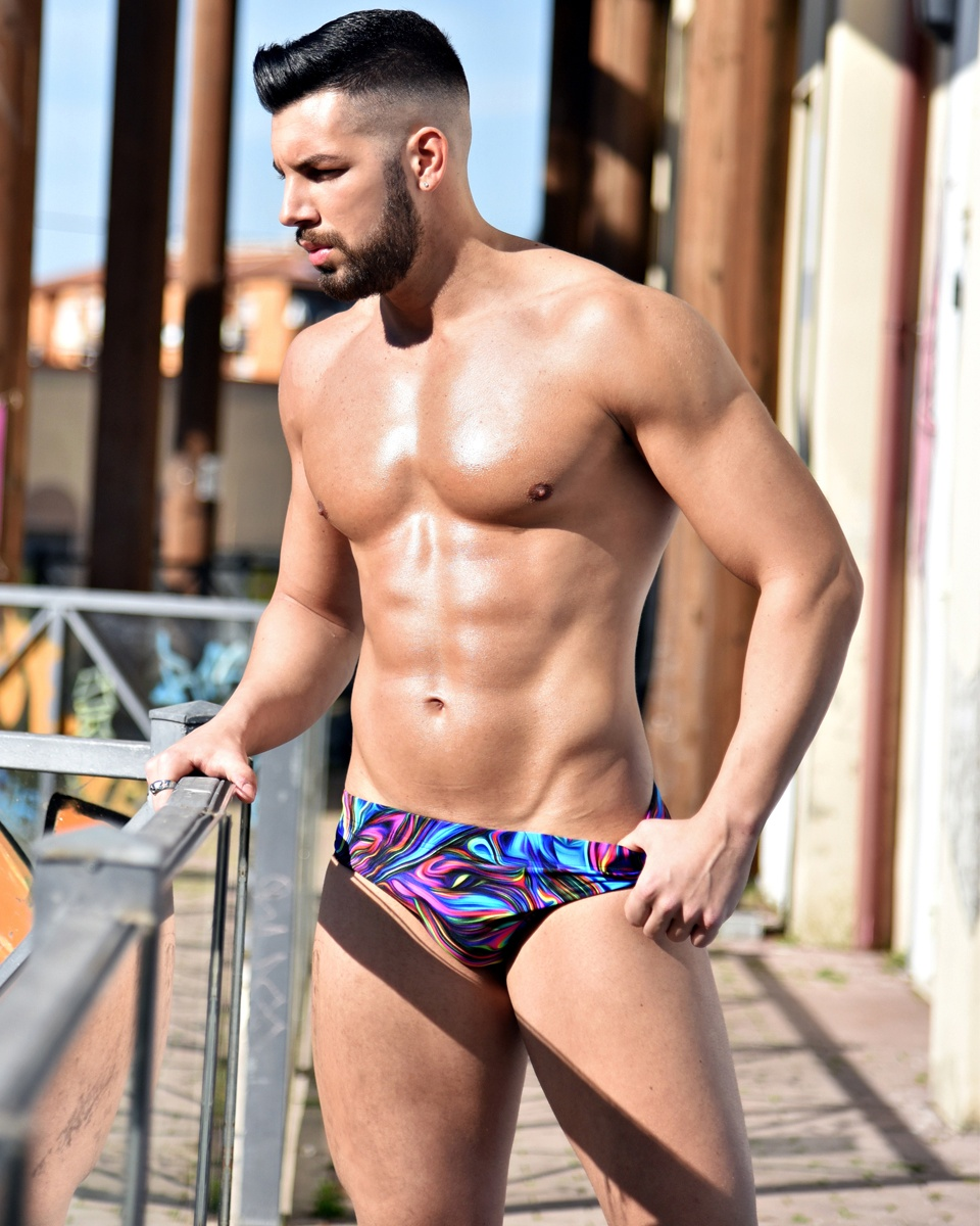 Antonio Raji Latella for WAPO Wear Swimwear 5