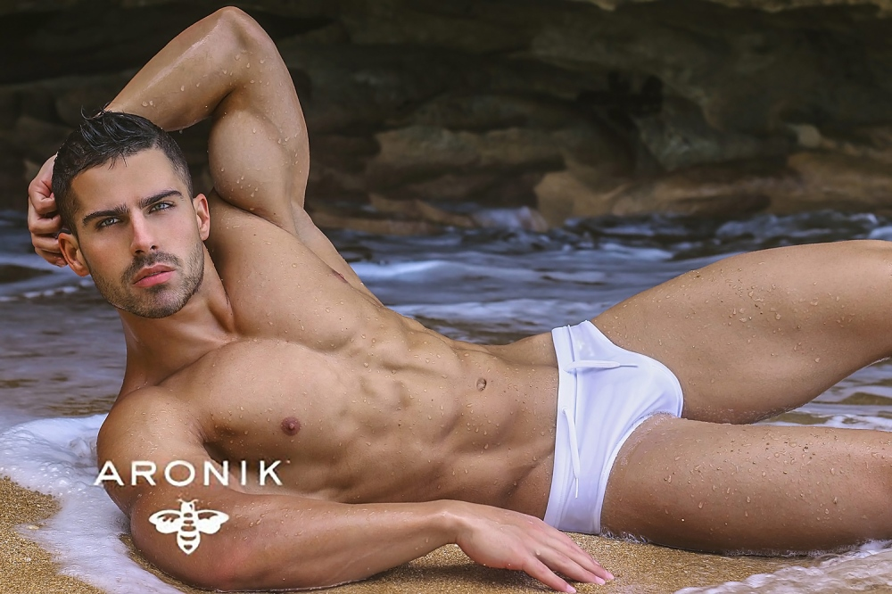 Roman Dawidoff for Aronik Swimwear