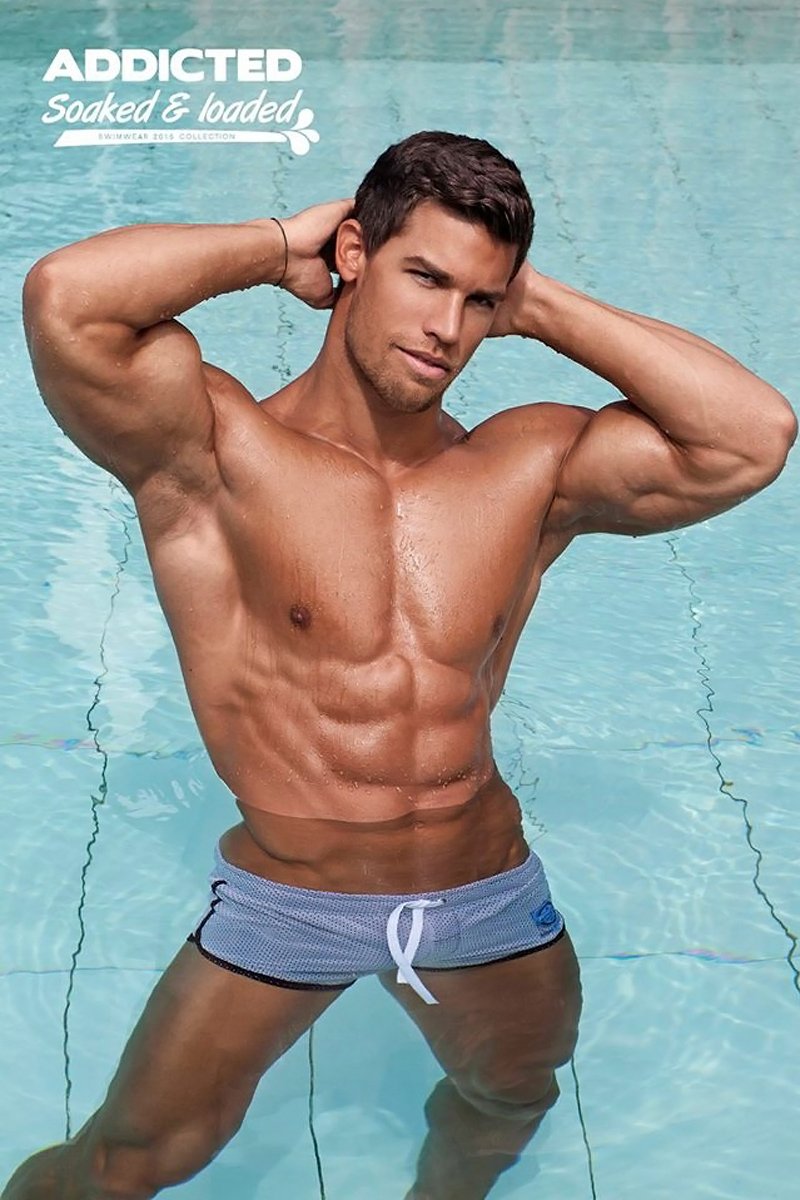 Kris Evans for ADDICTED Soaked & Loaded 2
